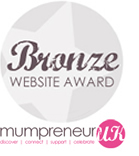 maternity-sportswear wins mumpreneur bronze award